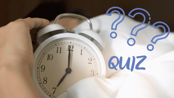 Quiz Santé – un bon sommeil est essentiel