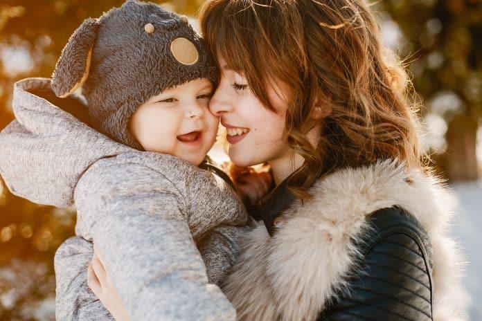 Bébé et l'hiver