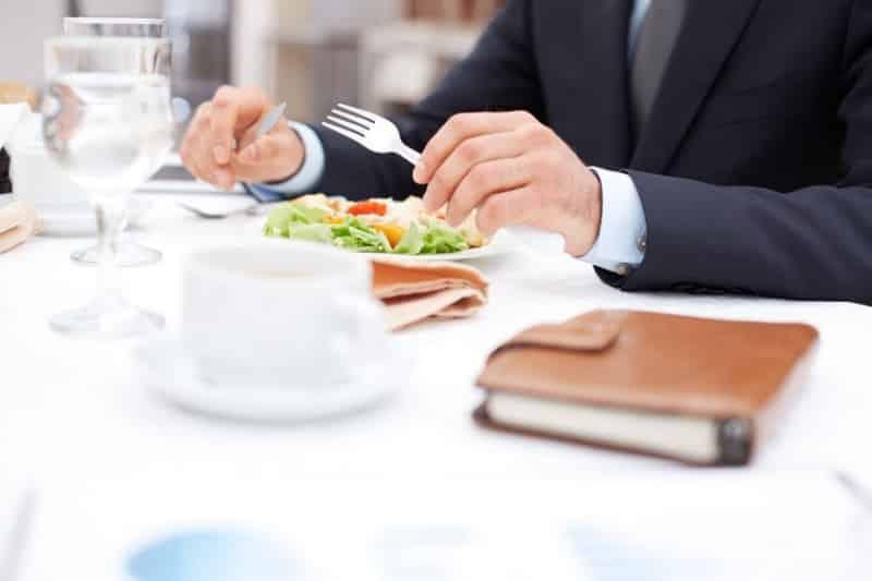 Minceur Et Repas D Affaires Les Conseils Du Chef