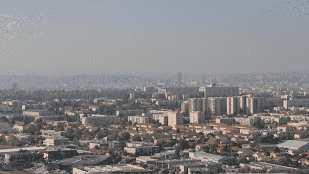 De l'air pollué