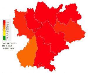 La grippe progresse en Rhône-Alpes