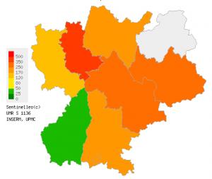 Le virus de la grippe résiste dans le Rhône