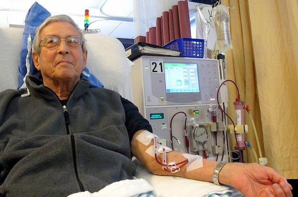 L'hémodialyse, solution adoptée par 90% des dialysés