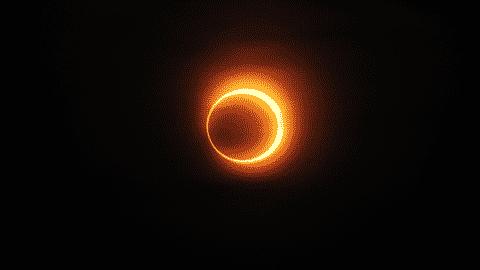 L'éclipse solaire est dangereuse pour les yeux