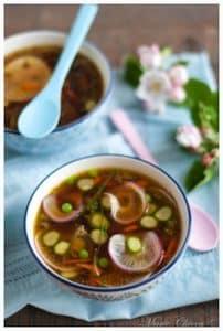 """La soupe miso printanière, une recette """"détox"""" de bon goût ©M.Chioca"""