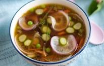 La recette d'une soupe detox