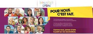 La campagne Immuniser Lyon s'affiche pour la vaccination