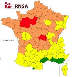 Rhône-Alpes figure parmi les régions où les pollens résistent