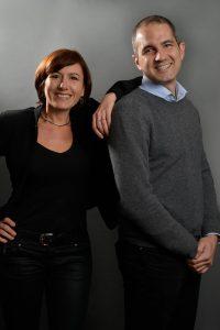 Fanny Lafore et Philippe Giboz, co-fondateurs de Yunkka. Copyright : Yunkka
