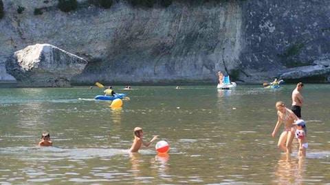 En Rhône-Alpes, les sites de baignade présentent une eau de bonne qualité