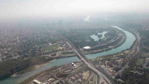 Lyon et la région Rhône-Alpes pollués à l'ozone avec la canicule