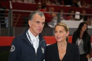 Michel Robert et Sylvie Robert, Présidente et Directrice des concours. Crédit photo : Equita