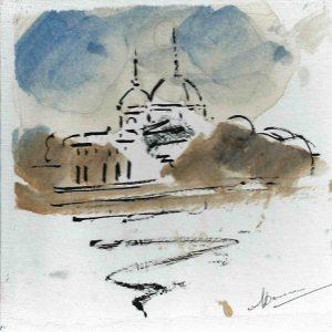 Le centre de Lyon dessiné par Annie Dromard