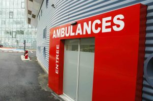 L'entrée des ambulances a été repensée à Jean Mermoz