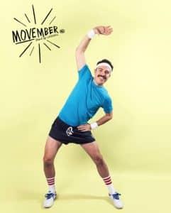 Sport et moustache, le duo gagnant de Movember en 2015