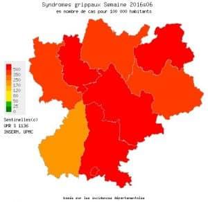 La grippe fait rage en Rhône-Alpes