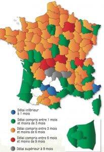 Pour prendre rendez-vous chez un ophtalmo, la situation est particulièrement critique en Isère