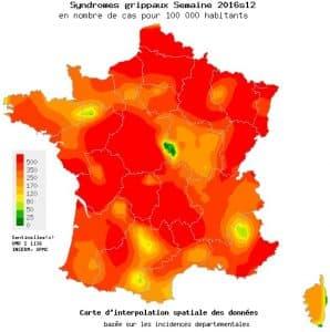 La grippe fait rage partout en France
