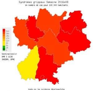 De Lyon à Chambéry, la grippe avance...