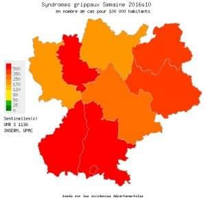 La grippe continue de faire rage en Rhône-Ales