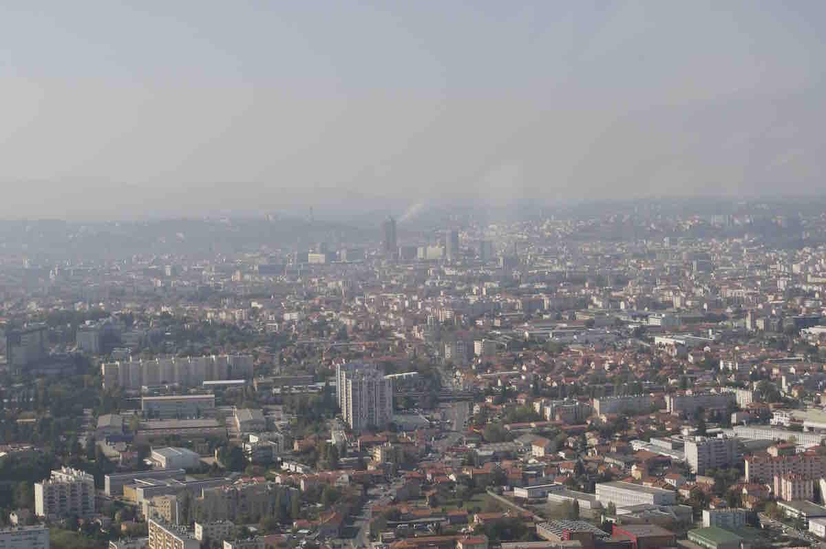 La Métropole de Lyon est souvent victime de pollution atmosphérique