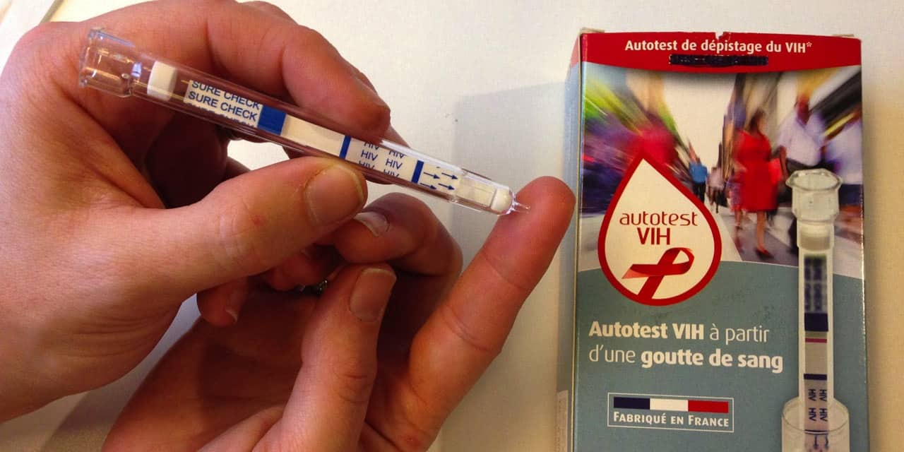 L'auto-test VIH est disponible en pharmacie ou en ligne