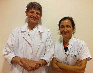 Les professeurs Bonnefoy-Cudraz et Thibault, cardiologues à Lyon, mettent en garde les femmes contre les risque de l'infarctus.