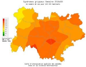 La grippe avance en Auvergne Rhône-Alpes
