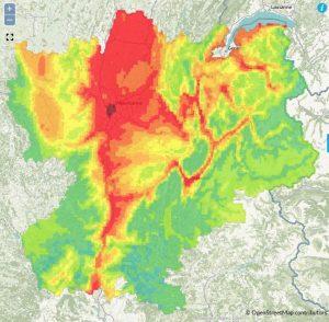 Les particules fines polluent l'air de Rhône-Alpes