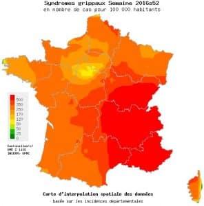 Auvergne Rhône-Alpes et Paca figurent parmi les régions les plus touchées par la grippe