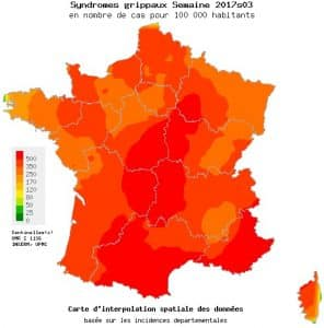 La grippe continue de progresser en France
