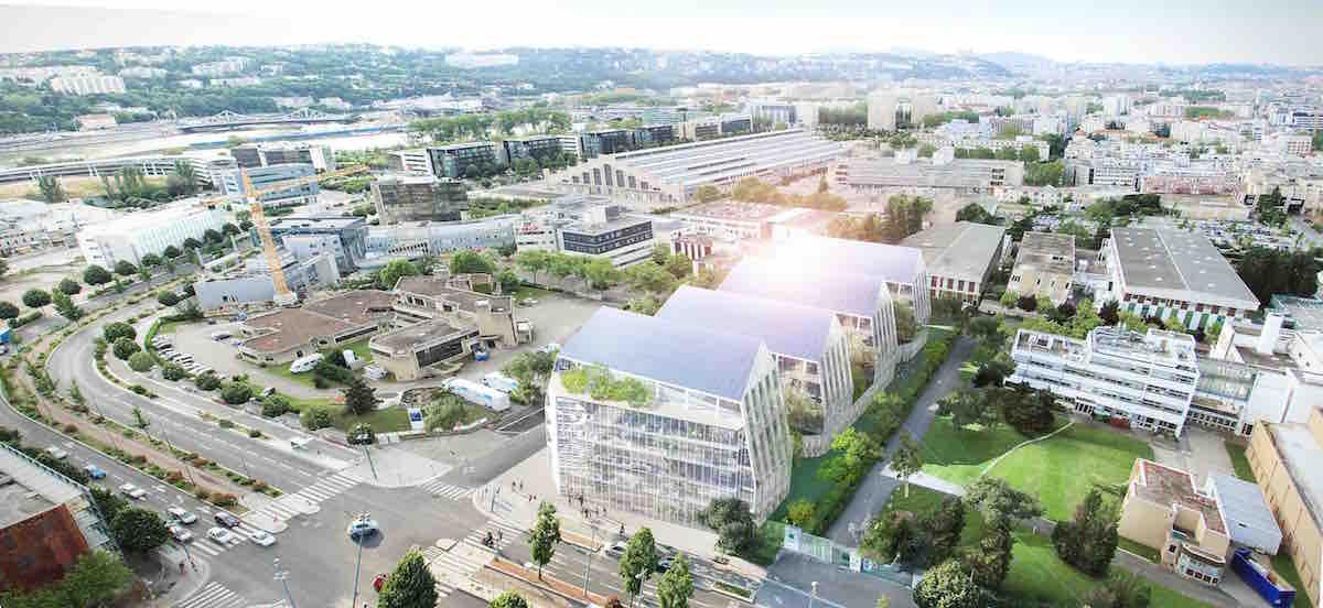 Merial disposera d'un nouveau siège à Lyon, dans le quartier de Gerland.