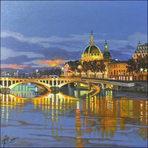 Tableau du 111 des Arts à Lyon