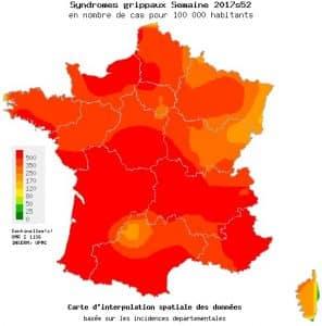 L'épidémie de grippe s'étend en France
