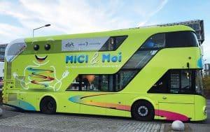 Le bus MICI&Moi, ouvert à tous, sera aussi stationné le 22 mai de 10h à 16h devant le CHU de Grenoble