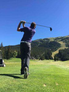 Le golf exige endurance et concentration