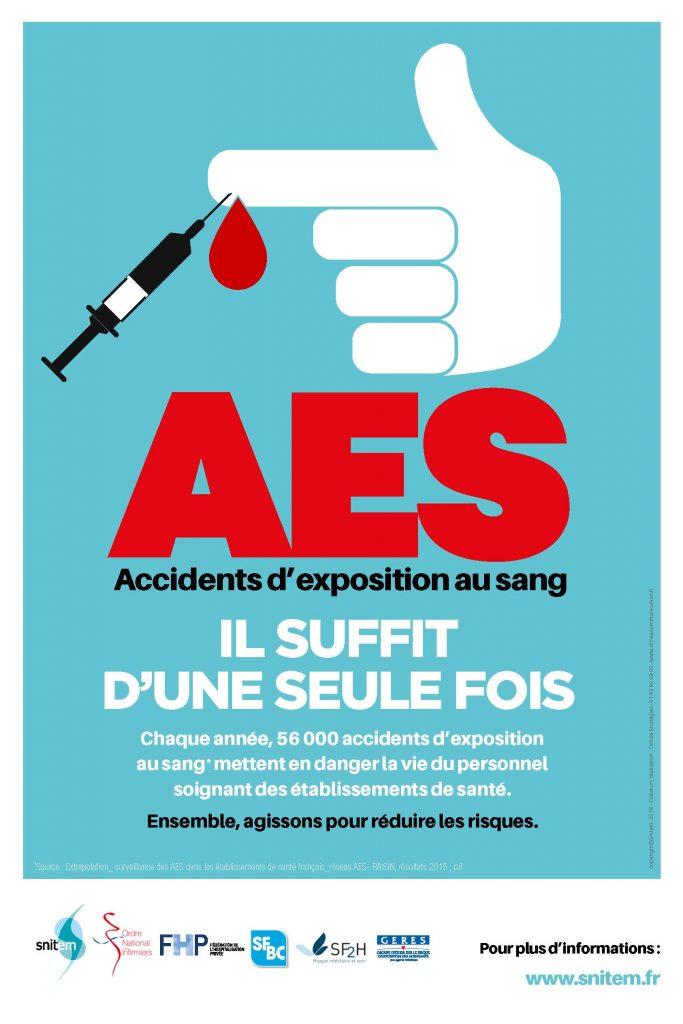 accidents d'exposition au sang