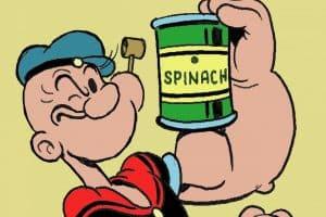 La nutrition et les épinards font l'objet de bien des croyances erronées