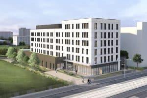 Medicina sera inauguré en septembre 2019 dans le quartier de Grange-Blanche à Lyon