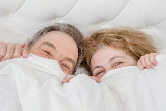 On peut avoir une vie sexuelle épanouie à tous les âges ! © Shutterstock