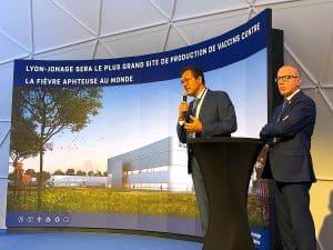 Lelouche et Bonin Boehringer centre de production vaccins fièvre aphteuse