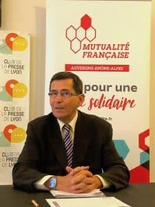 Yves Perrin, président de la Mutualité Française AuRA