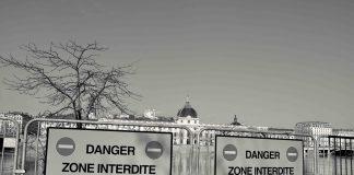 Lyon coronavirus berges Rhône hotel dieu