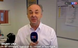 "Le professeur Bruno Lina ""rassurant"" sur LCI"