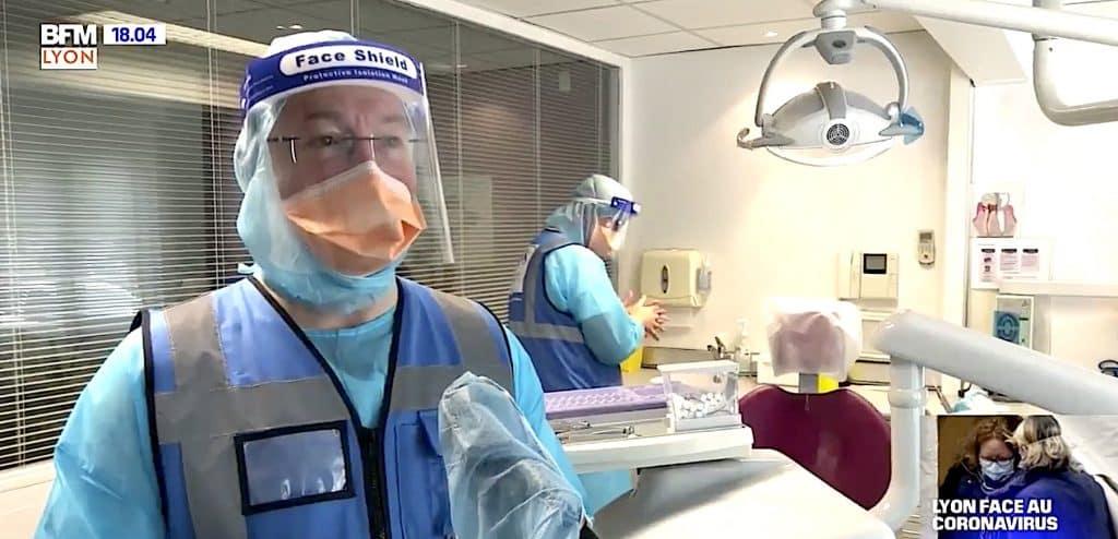 coronavirus chirurgiens dentistes BFM