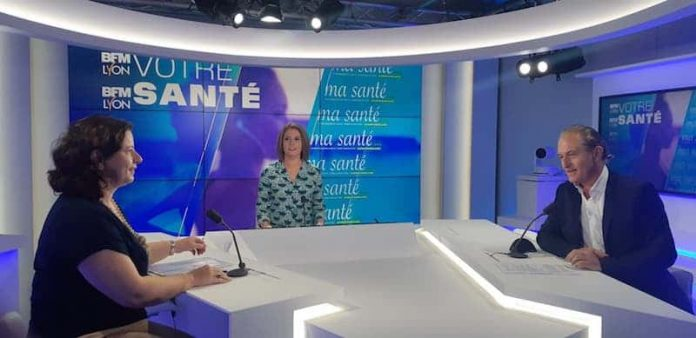 Emmanuelle lafoux, directrice CPAM du Rhône, sur BFM