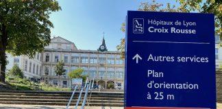 hôpital croix-rousse covid P.Auclair