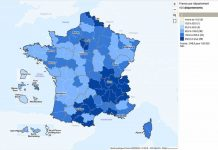 coronavirus taux incidence en France