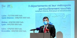 reconfinement local coronavirus lyon saint-Etienne