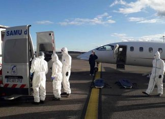 transfert covid aeroport lyon